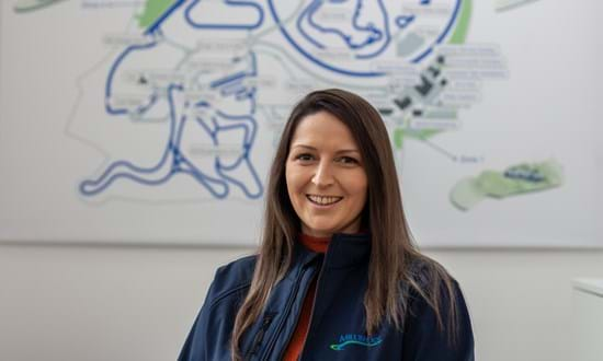 Portrait of Sally Turner, Health and Safety Manager at Millbrook