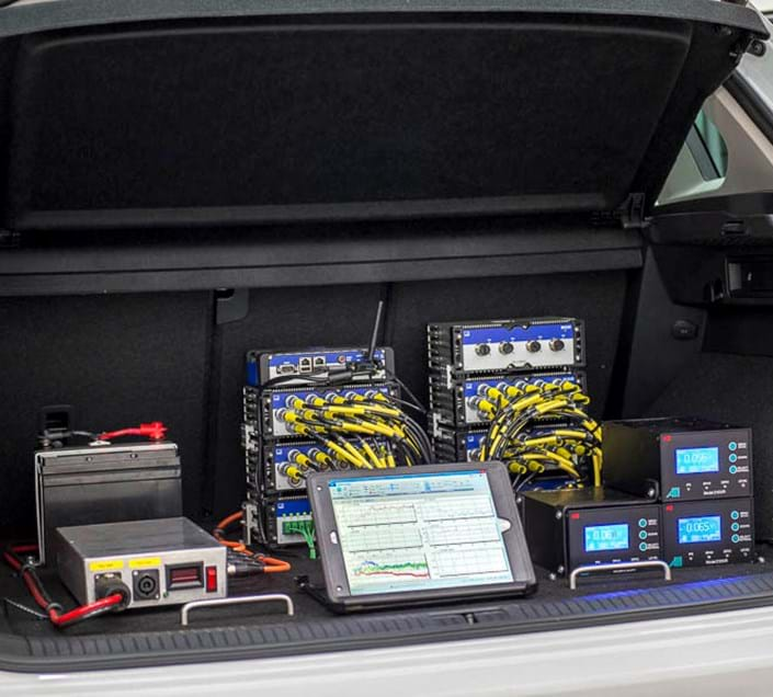 Road load data analysis and acquisition as part of Millbrook's vehicle measurement test service