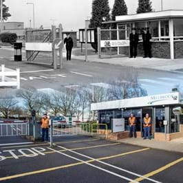 Millbrook Proving Ground Security Lodge - 1970 vs 2020