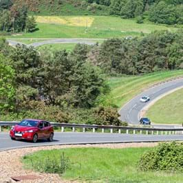 Vehicle benchmarking on the Hill Route alpine circuit at Millbrook Proving Ground
