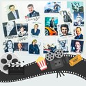 Montage of TV and film stars that have visited Millbrook as a filming location