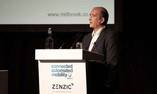 Peter Stoker Presenting Zenzic Connected And Autonomous Vehicles